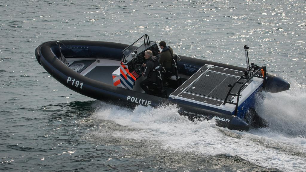 Ribcraft 9m Dutch Police RIB Police boat