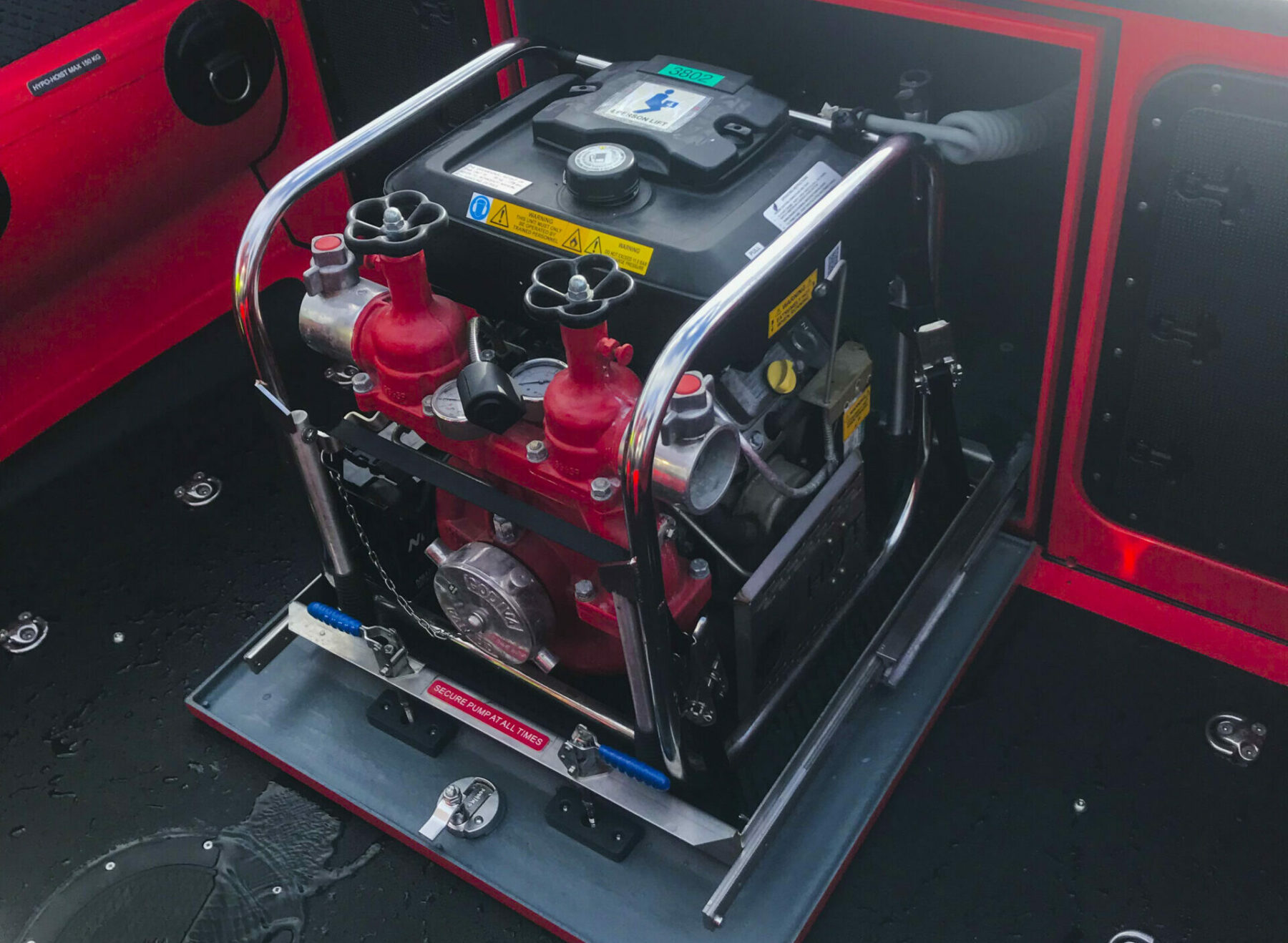 Ribcraft Water Pump From Fire & Rescue Range
